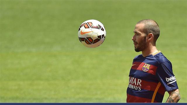 Así ha sido el paso de Aleix Vidal por el Barça