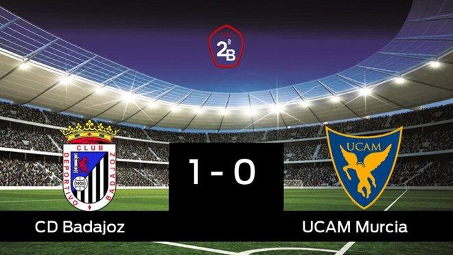 El Badajoz se lleva la victoria en su casa frente al UCAM Murcia