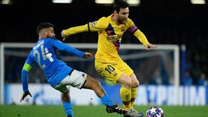 El Barça empató en la ida, disputada en San Paolo (1-1)