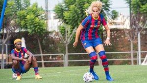 El Barça femenino ha arrancado ya los entrenamientos