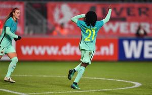 El Barça goleó al Twente en octavos de final de la Champions