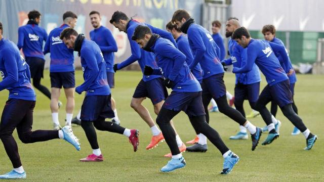 El Barça se prepara para volver a la competición liguera contra el Leganés