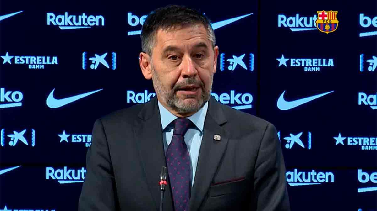 Bartomeu entiende que Messi estuviese cabreado al final de temporada