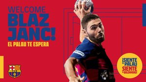 Blaz Janc reforzará el balonmano azulgrana en 2020