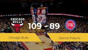 Chicago Bulls logra derrotar a Detroit Pistons en el United Center (109-89)