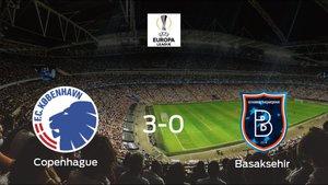 El Copenhague da la vuelta a la eliminatoria frente al Istanbul Basaksehir y se hace con la plaza en cuartos de final (3-0)