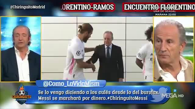 Creo que Sergio Ramos se va a ir del Real Madrid
