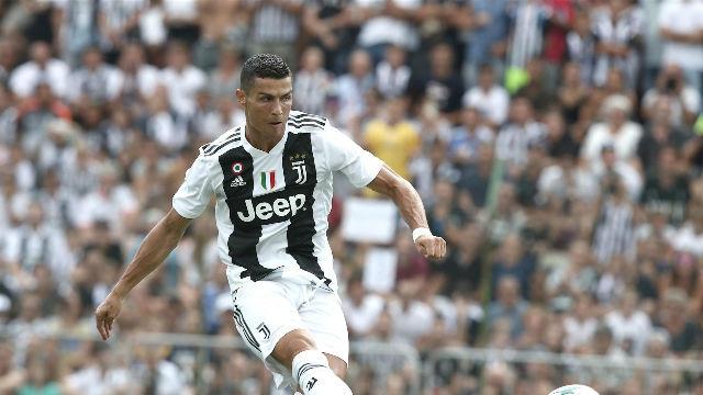 ¡Cristiano marca su primer gol con la camiseta de la Juventus!