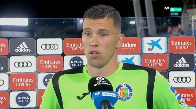 David Soria: Pensé que Ramos iba a imitar a Messi y lanzarlo a lo panenka