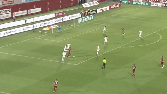 David Villa no descansa: nuevo golazo con el Vissel Kobe