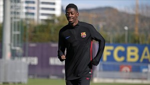 Dembélé ya disfruta desde hace unos días de casa en Barcelona