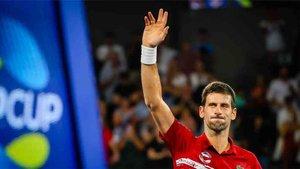 Djokovic dio dos puntos Serbia
