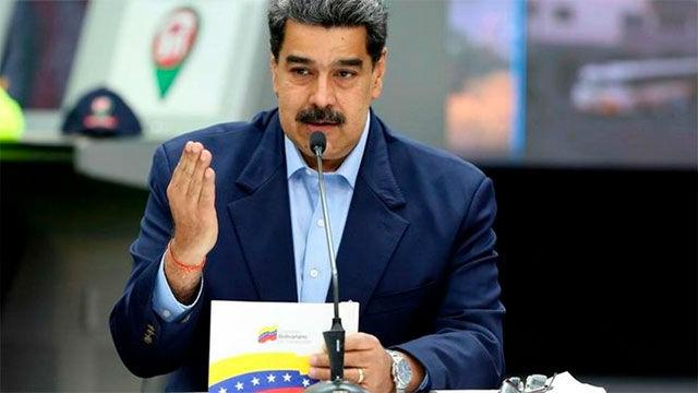 EE.UU. ofrece una recompensa de 15 millones por Maduro y de 10 por Cabello