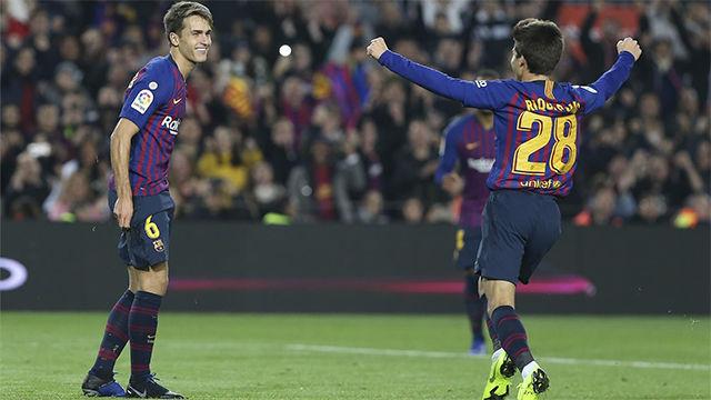 El equipo B del Barça se reivindica en la Copa