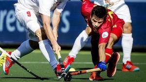 El equipo español no tuvo la menor opción
