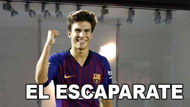 El Escaparate: Riqui Puig, la joya que pide paso en el Camp Nou