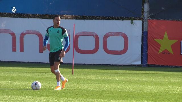 El Espanyol completa la sesión de entrenamiento del sábado