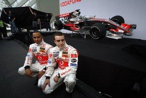 Hamilton y Alonso, en McLaren 2007