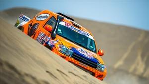 Jesús Calleja espera completar el Dakar con su Proto Racing