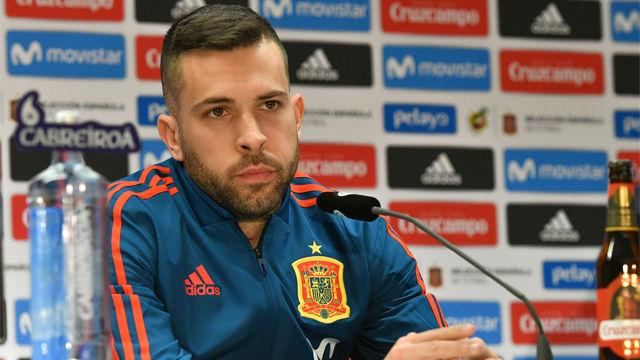 Jordi Alba confiesa que fue una sorpresa llegar al Barça