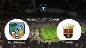 Jornada 8 de la Tercera División: previa del duelo San Fernando - Unión Viera