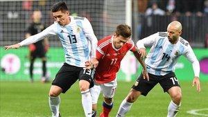 Kranevitter, con Argentina