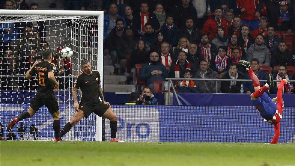 LACHAMPIONS | Atlético de Madrid - Roma (2-0): El golazo de Griezmann