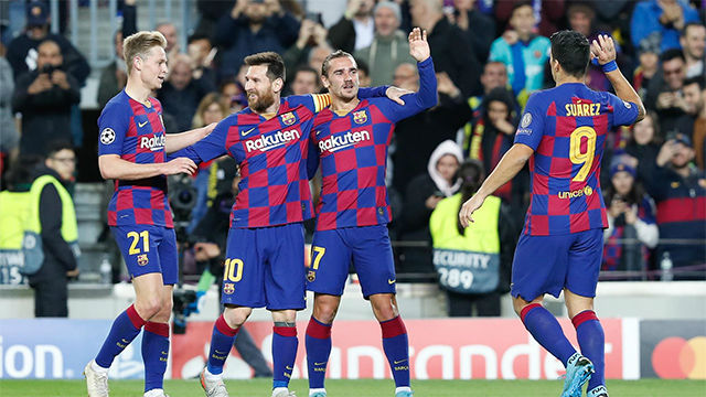 Las notas de los jugadores del Barça ante el Dortmund