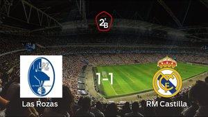 Las Rozas y el RM Castilla consiguen un punto tras empatar a 1