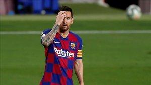 Leo Messi, el único azulgrana en el equipo ideal de LaLiga para la UEFA
