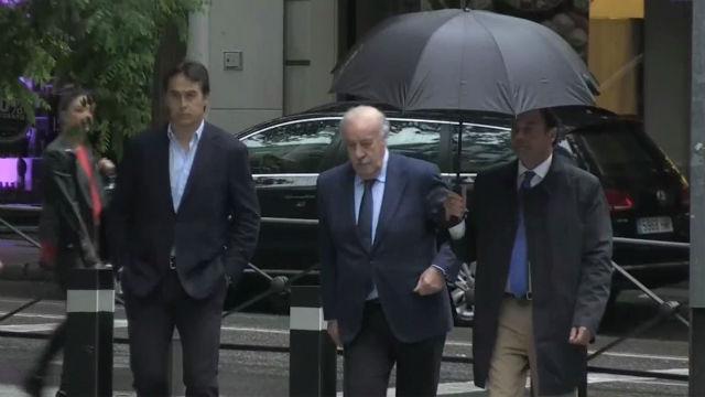 Lopetegui y Del Bosque declaran en el caso Villar