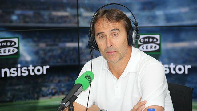 Lopetegui respondió a las palabras de Messi sobre el Madrid