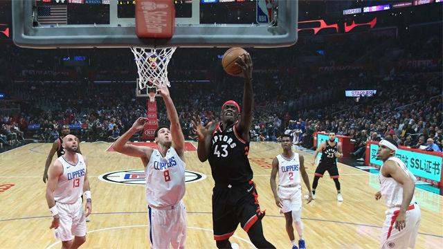 Los Toronto Raptors vencieron con comodidad a Los Ángeles Clippers (123-99)