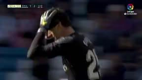 El Madrid tuvo el empate en el 95... ¡con un cabezazo de Courtois!