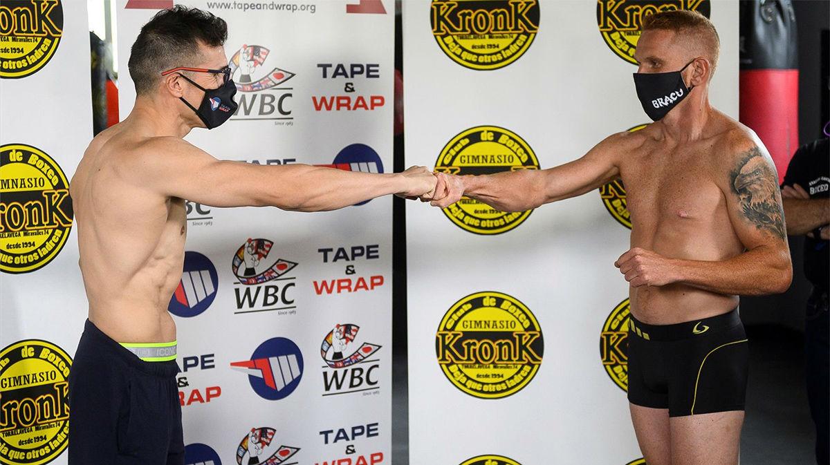 Maravilla Martínez cumple en báscula y vuelve al ring este viernes a los 45