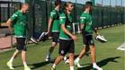 Mathieu se entrena con el Sporting de Portugal
