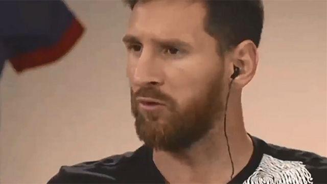 Messi habló sobre Cristiano