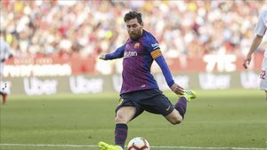 Messi llega en gran momento al clásico copero