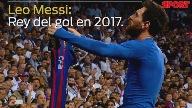 Messi es el máximo artillero mundial en lo que va de 2017