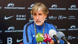 Pablo Alfaro ha hablado de la eliminatoria ante el Barça