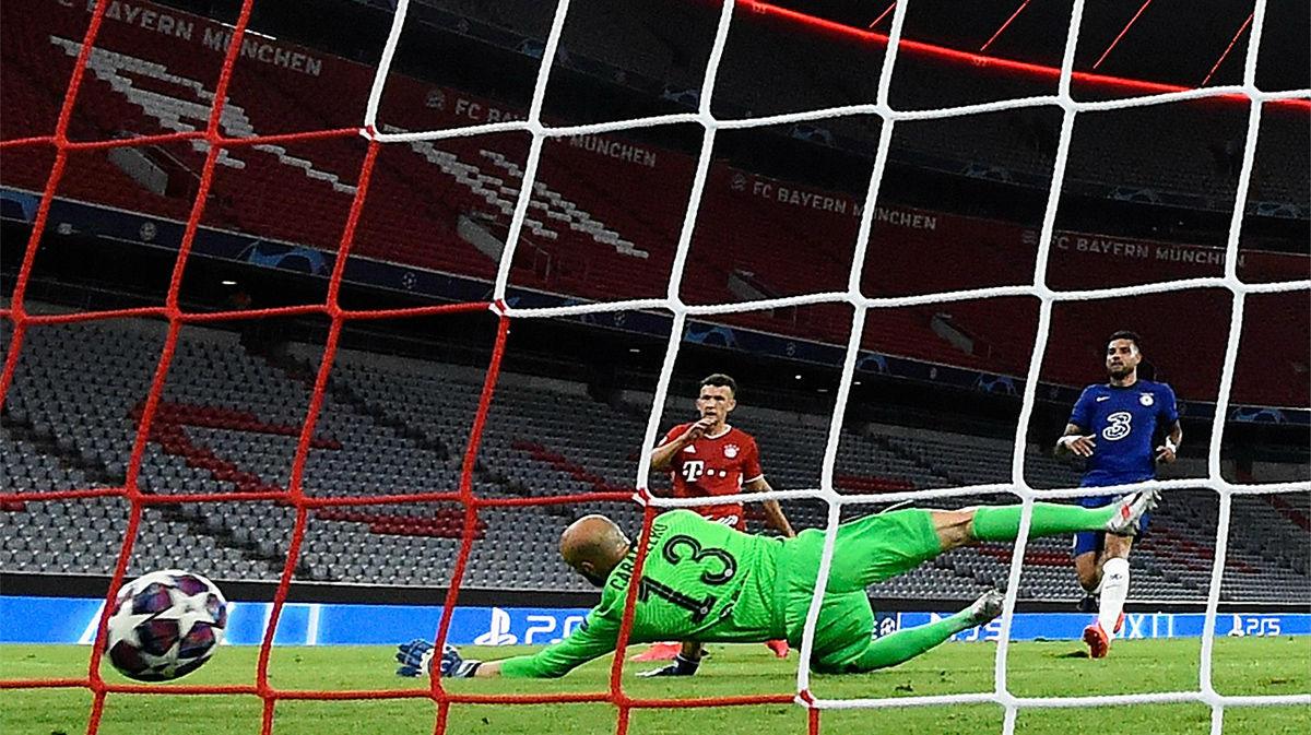 Perisic anotó el 2-0 ante el Chelsea