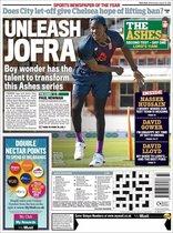 Portada de The Daily Mail Sport del 14 de agosto