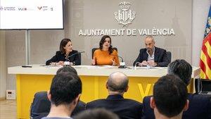 La presentación de los datos de participación del evento y su impacto turístico ha tenidolugar en la Sala de Prensa del Ajuntament de València