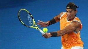 Rafa Nadal no ha cedido ni un set en el torneo