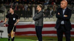 Robert Moreno, segundo entrenador de la selección, sustituyó a Luis Enrique ante Malta