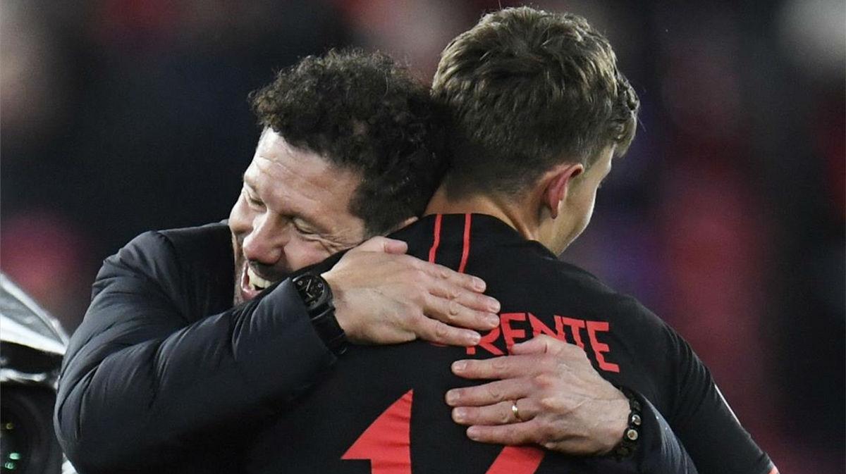 Simeone: Llorente no es Messi, pero juega como si le fuese la vida