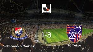 El FC Tokyo se lleva tres puntos tras derrotar 1-3 al Yokohama F. Marinos
