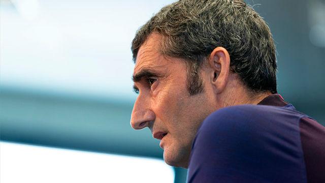 Valverde, cansado del tema Neymar