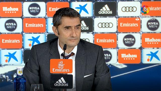 Valverde ensalzó a Iván Rakitic