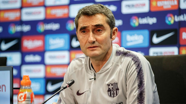 Valverde reflexionó sobre la actuación de Aleñá ante el Alavés